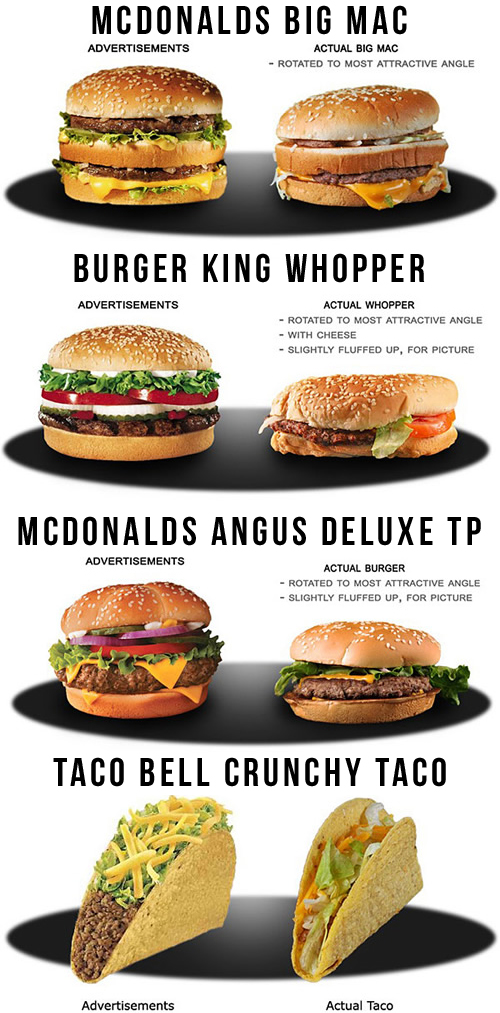 Fast Food Restaurants Advertisements