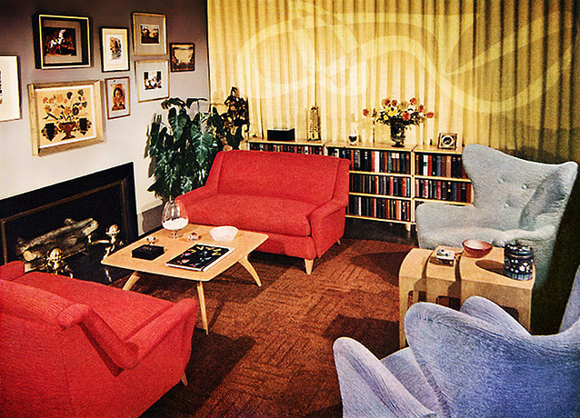 A Look At 48′s Interior Design Art Nectar Fascinating 1950S Interior Design