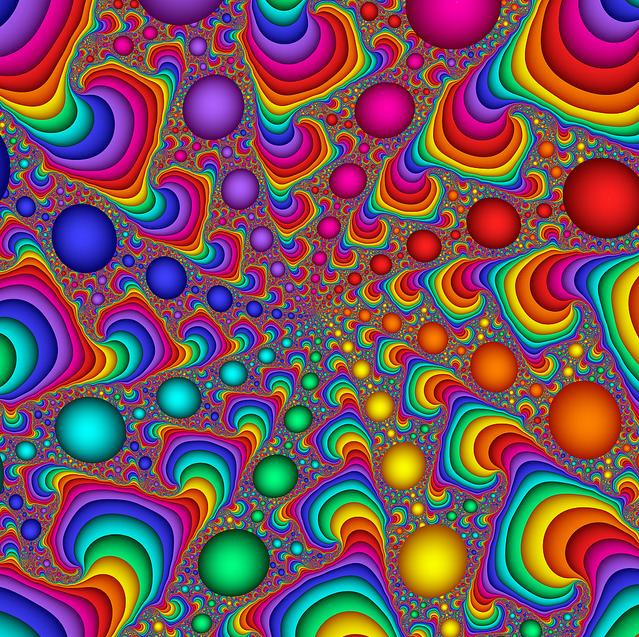 rainbow fractal wallpaper - photo #11