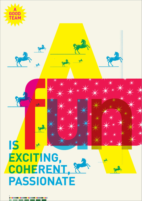 Poster Designs by Wolff Olison Which Reflects What Makes a Good ...