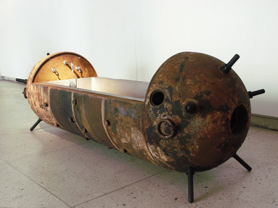 Product Design: A Steampunk Aficionados Dream – Furniture Made From Old Naval Sea Mines
