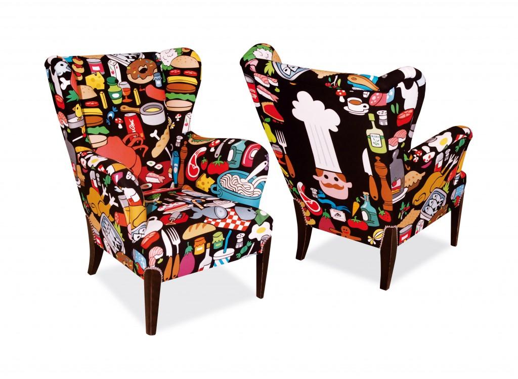 fotel, Pomysł na..., chair, armchair, design, nowoczesny, oryginalny, jak odmienić stary fotel,