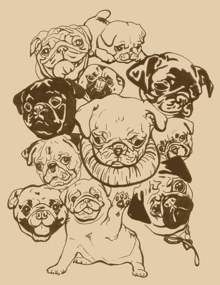 pugs_krystylillustrates