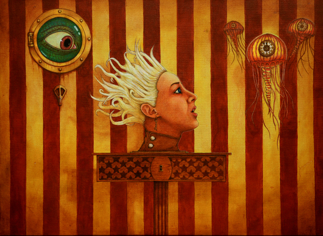 derrick_scocchera_on_a_pedastal_painting