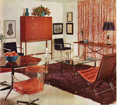 A look at 1960 s interior design art nectar for 1960s decoration