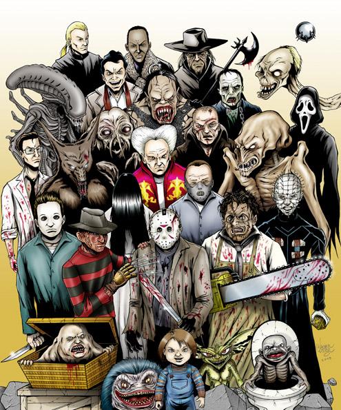 Classic horror  Classic Horror Monsters Wallpaper