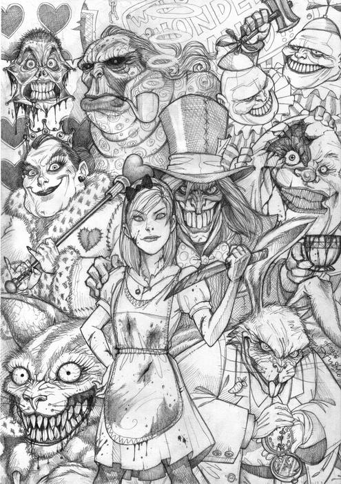 Daily Design Inspiration 8 Alice In Wonderland Concept