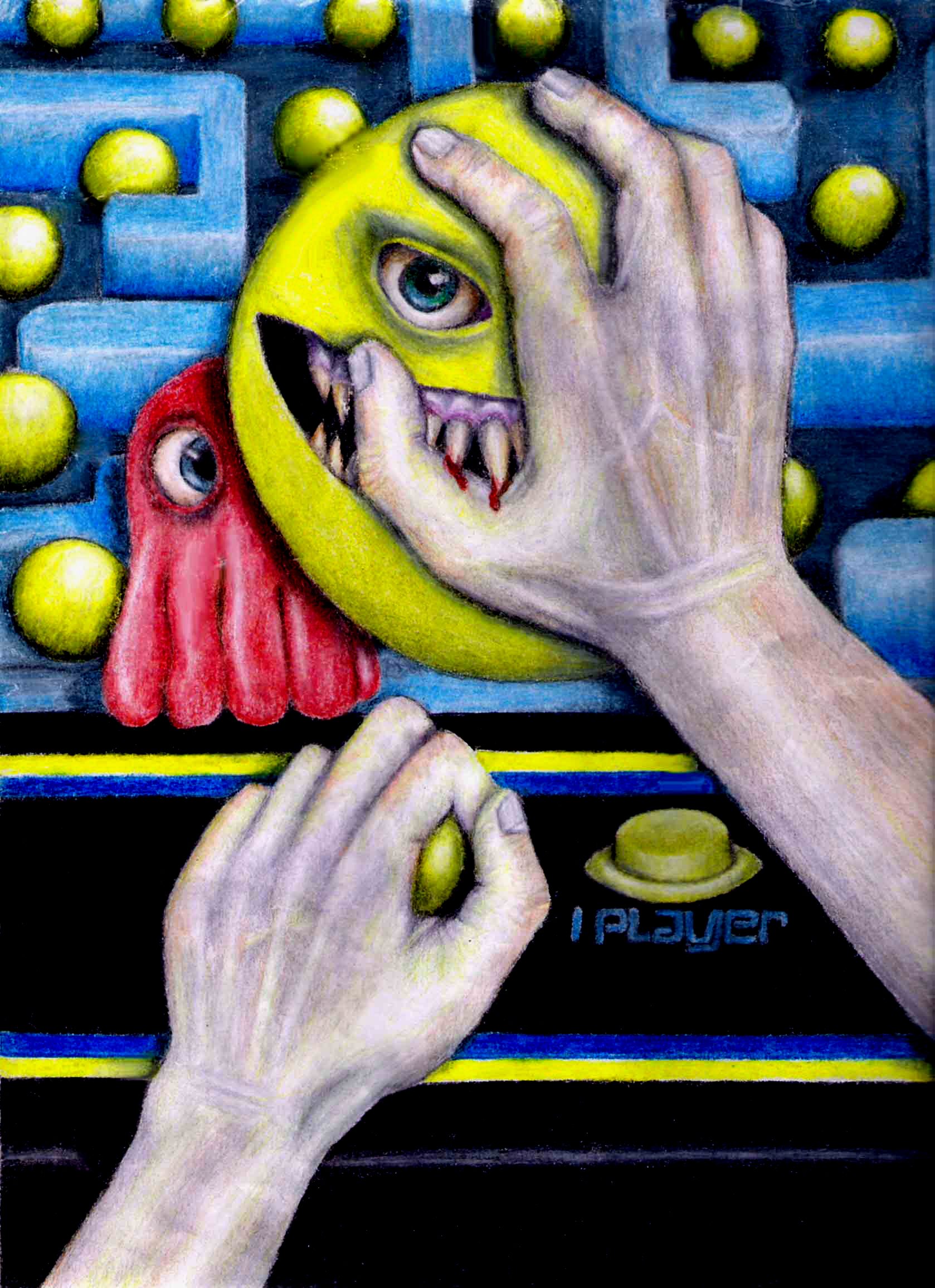 Totally Cool Nails Book Review: Totally Cool Pac Man Fan Art