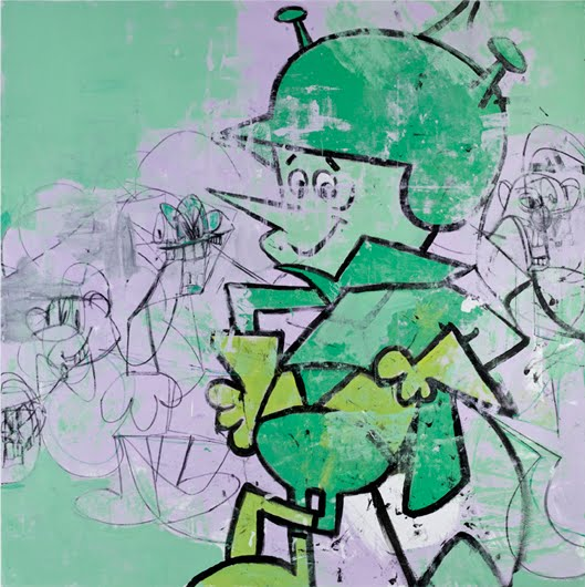 Cartoon Characters 50s : Art news george condo cartoon abstractions and diane