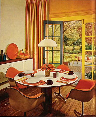 look at 1960 s interior design art nectar