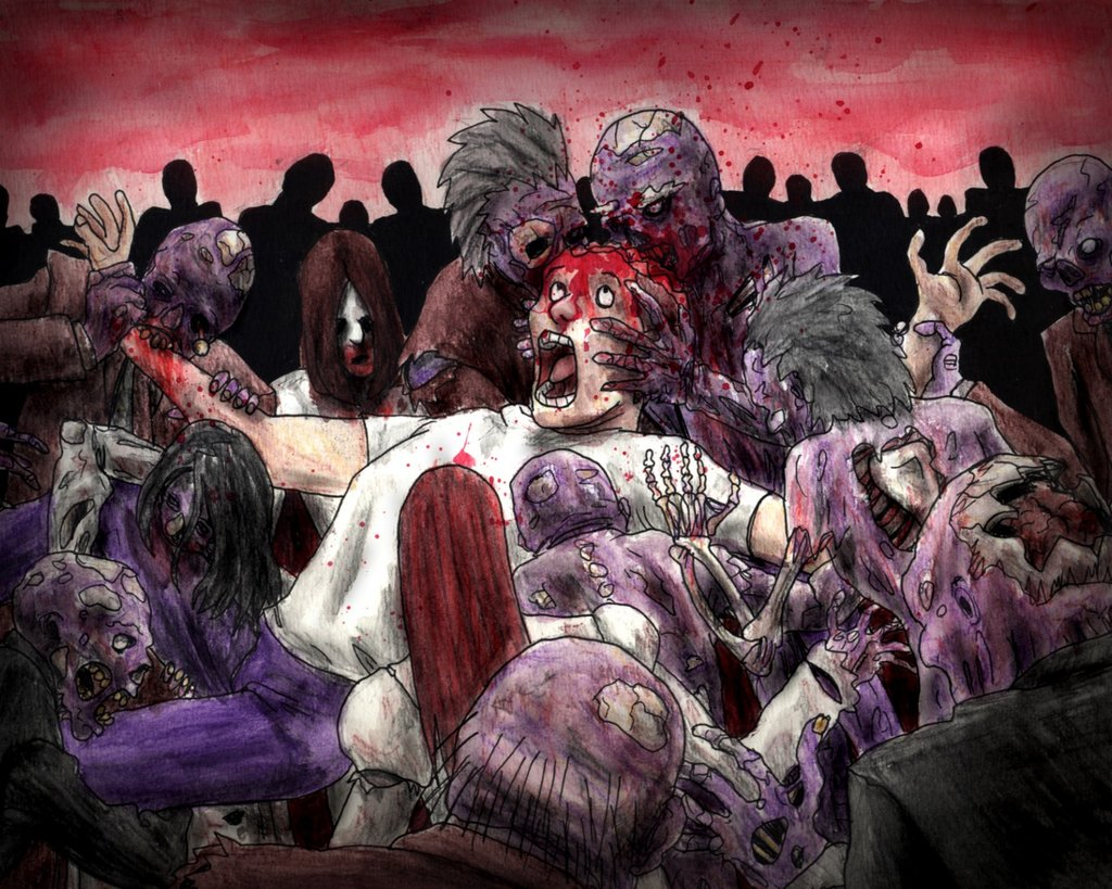 Daily Design Inspiration Zombie Art