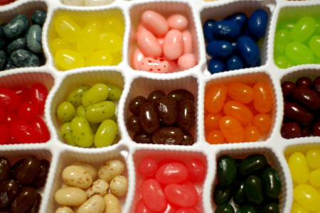 jelly beans that look like people. How Jelly Beans Invent Flavors